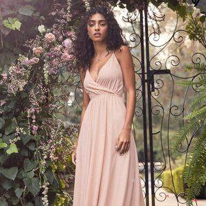 Lulus Blush Pink Backless Dress